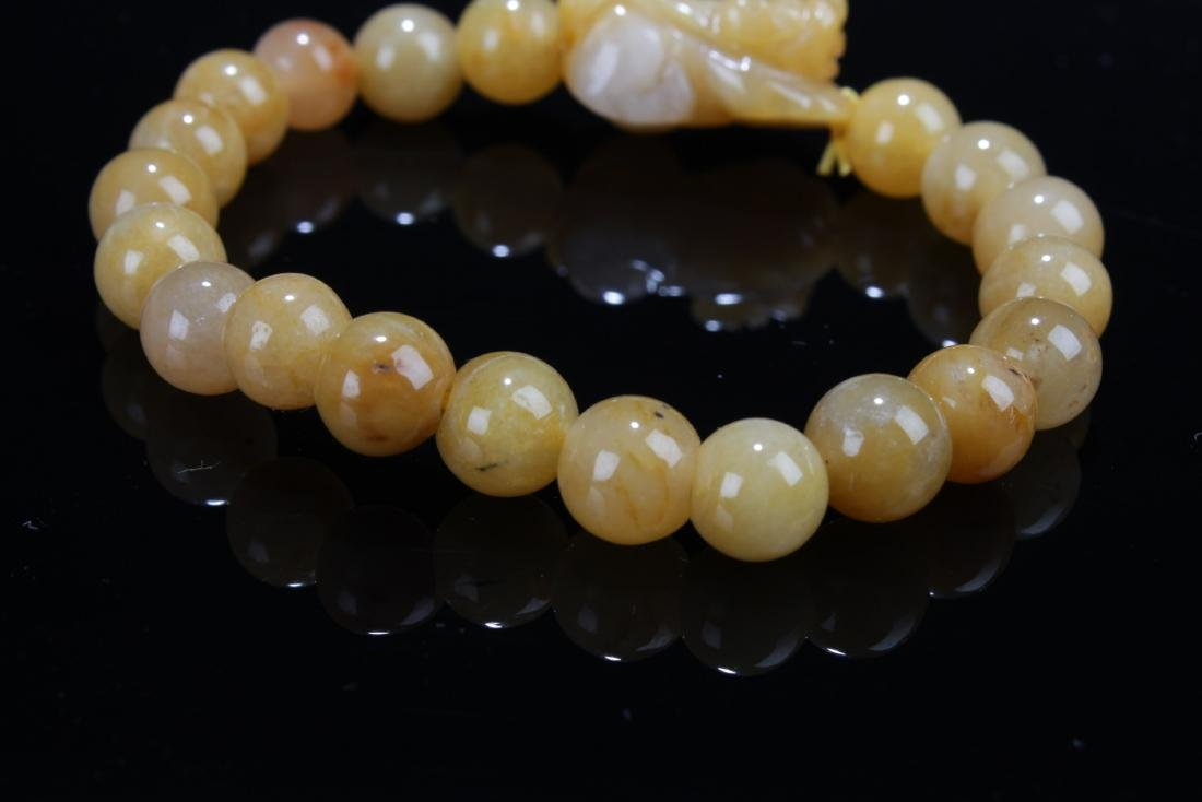 A Pair of Chinese Jade Bracelets - 4