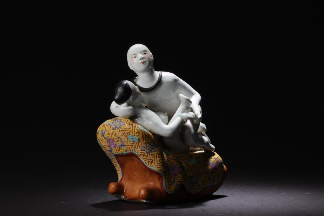 Chinese Porcelain Ornament - 2