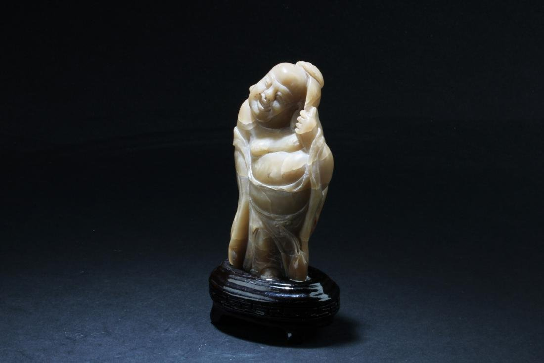 A Chinese Soapstone ornament - 3