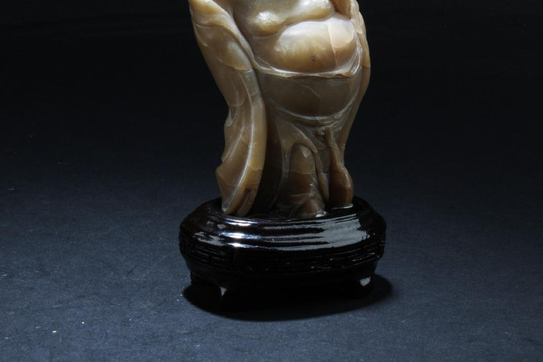 A Chinese Soapstone ornament - 5