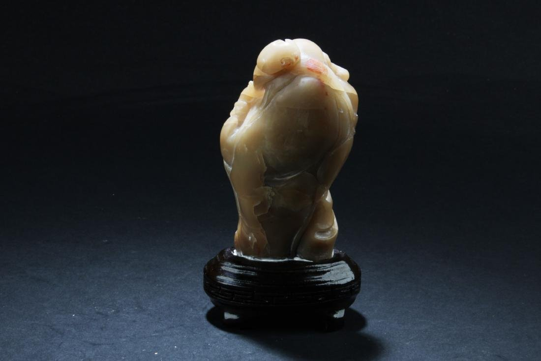 A Chinese Soapstone ornament - 6
