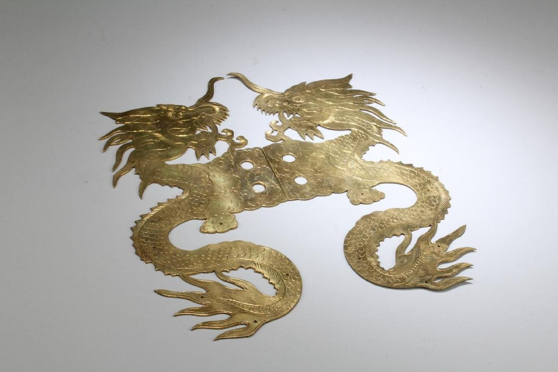 A Pair of Bronze Ornament