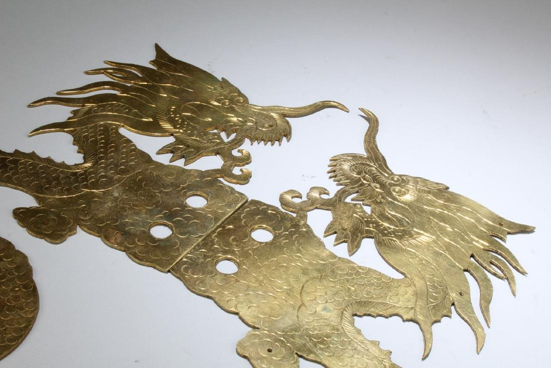 A Pair of Bronze Ornament - 2