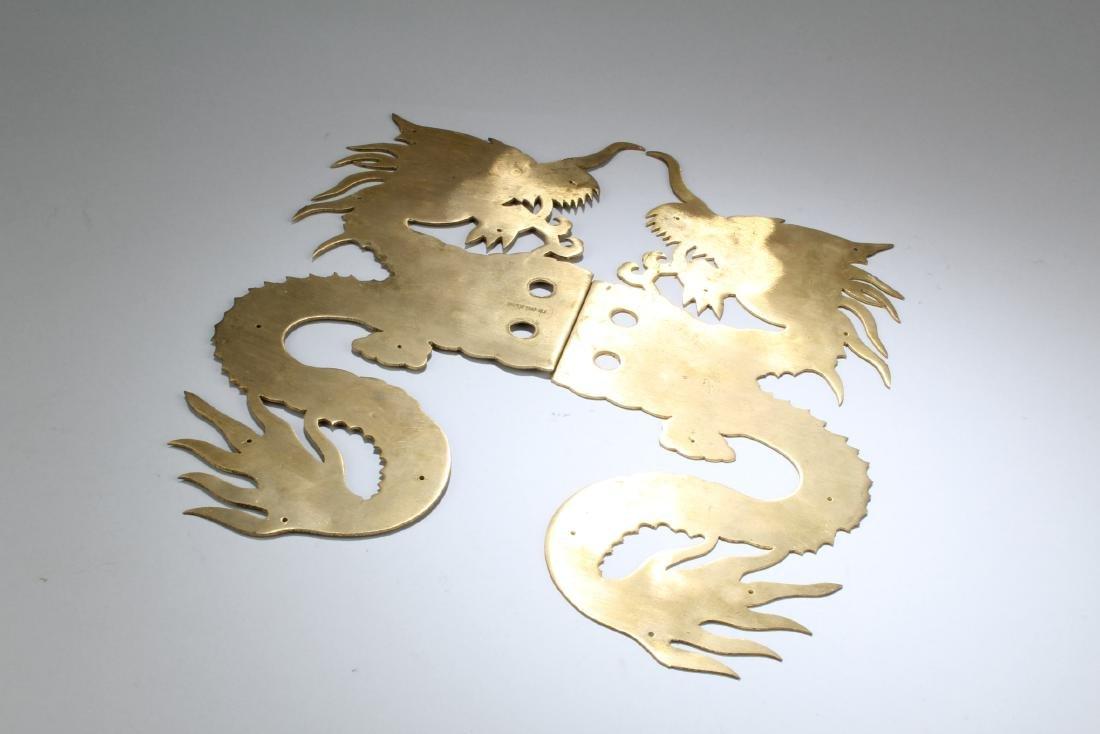 A Pair of Bronze Ornament - 3