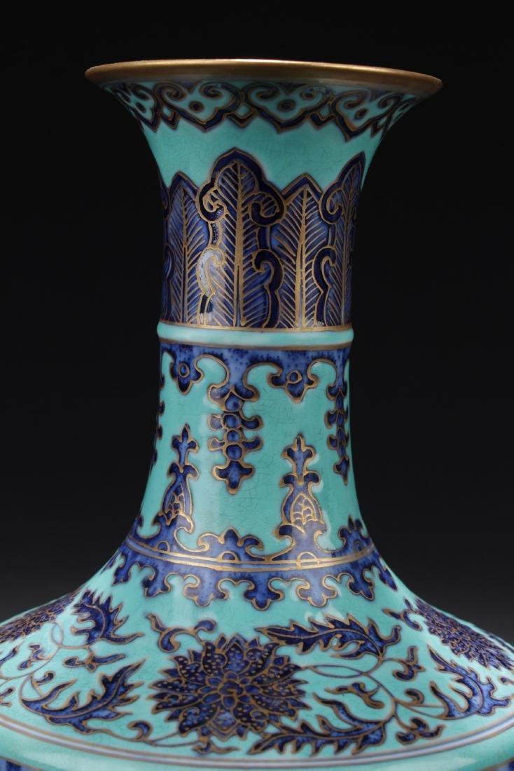 Chinese Turquoise Vase - 2