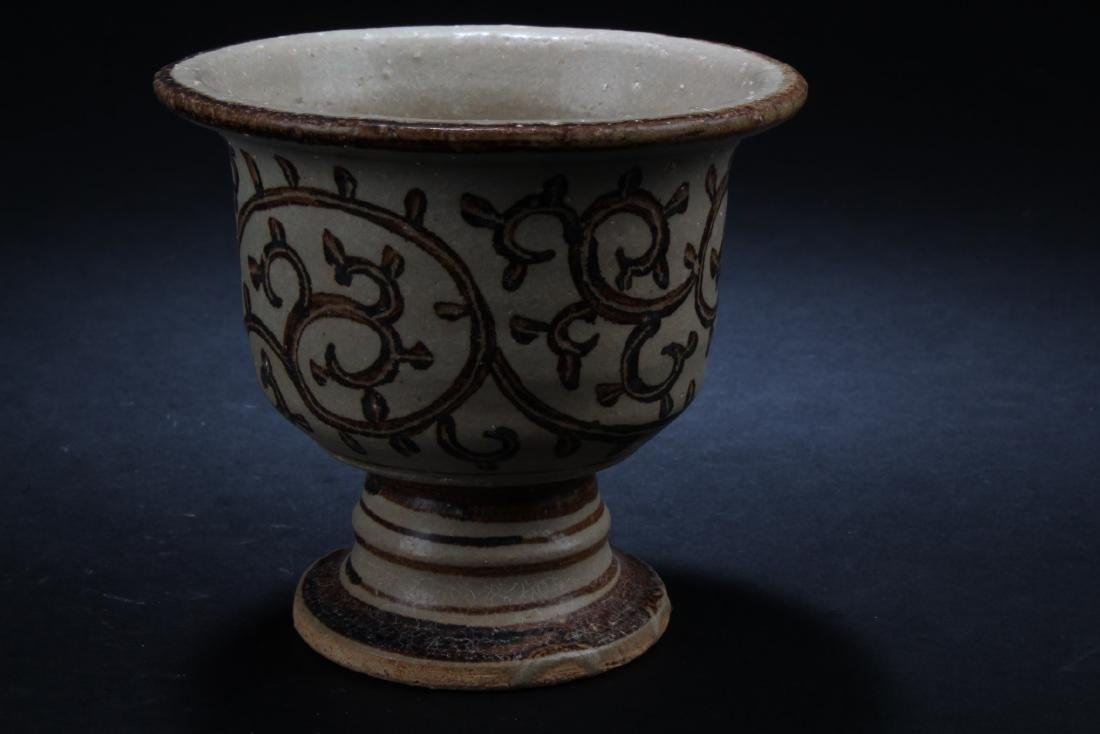 Chinese Pottery Cup - 2