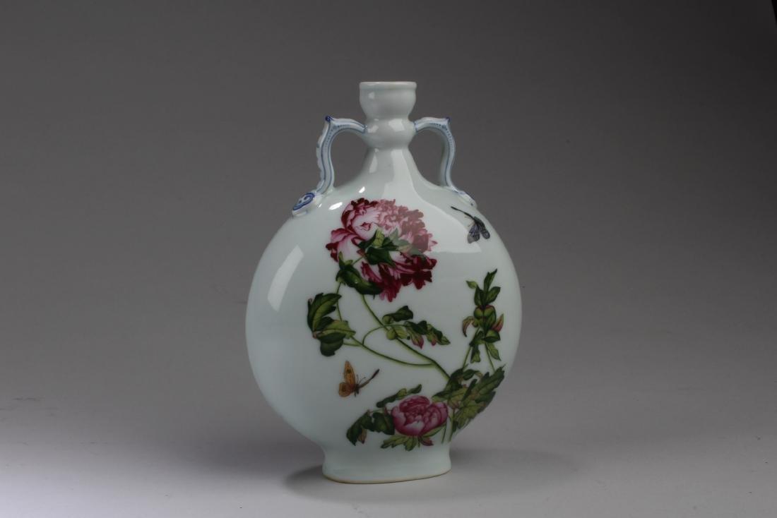 Chinese Porcelain Moonflask Vase - 2