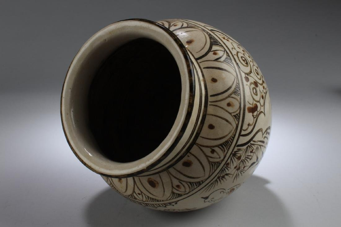 Chinese Pottery Jar - 4