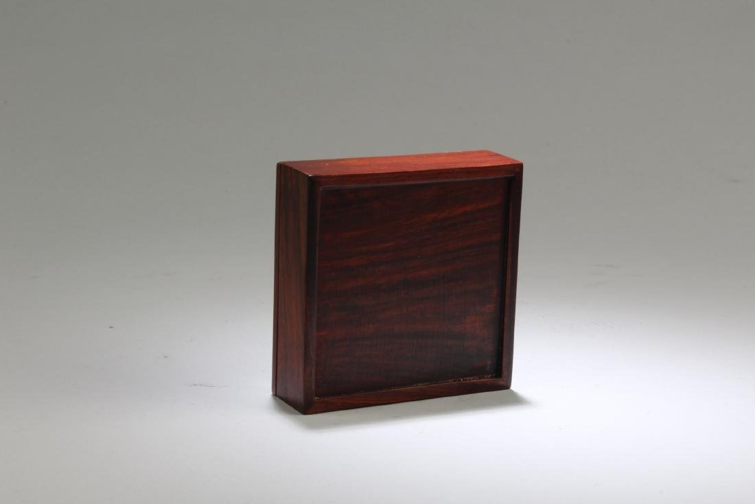A Wooden Square Box - 2