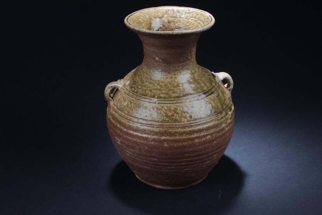 Antique Chinese Enamel Glazed Vase