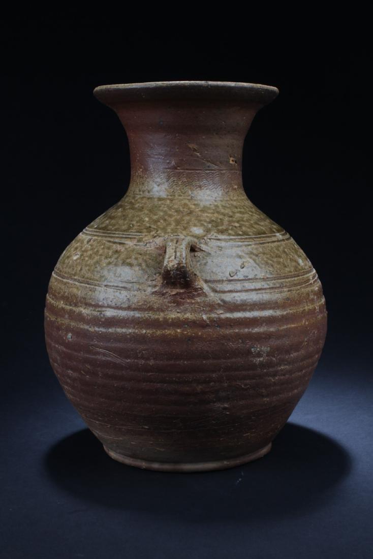 Antique Chinese Enamel Glazed Vase - 2