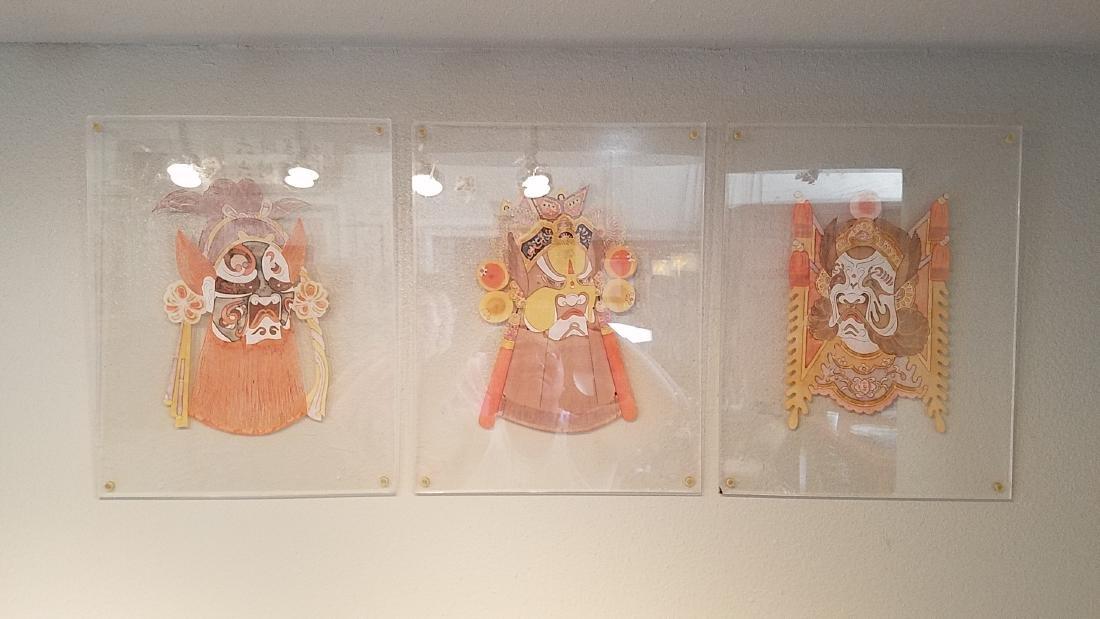 Three Antique Chinese Origami