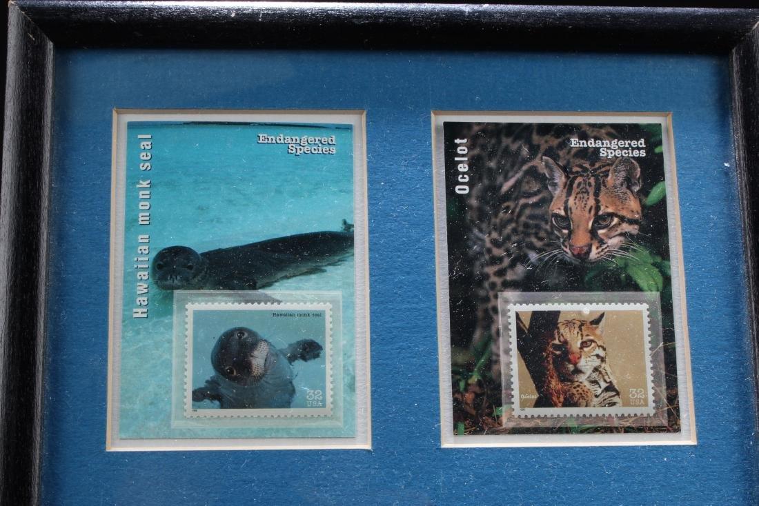 A Framed Stamp Set - 2