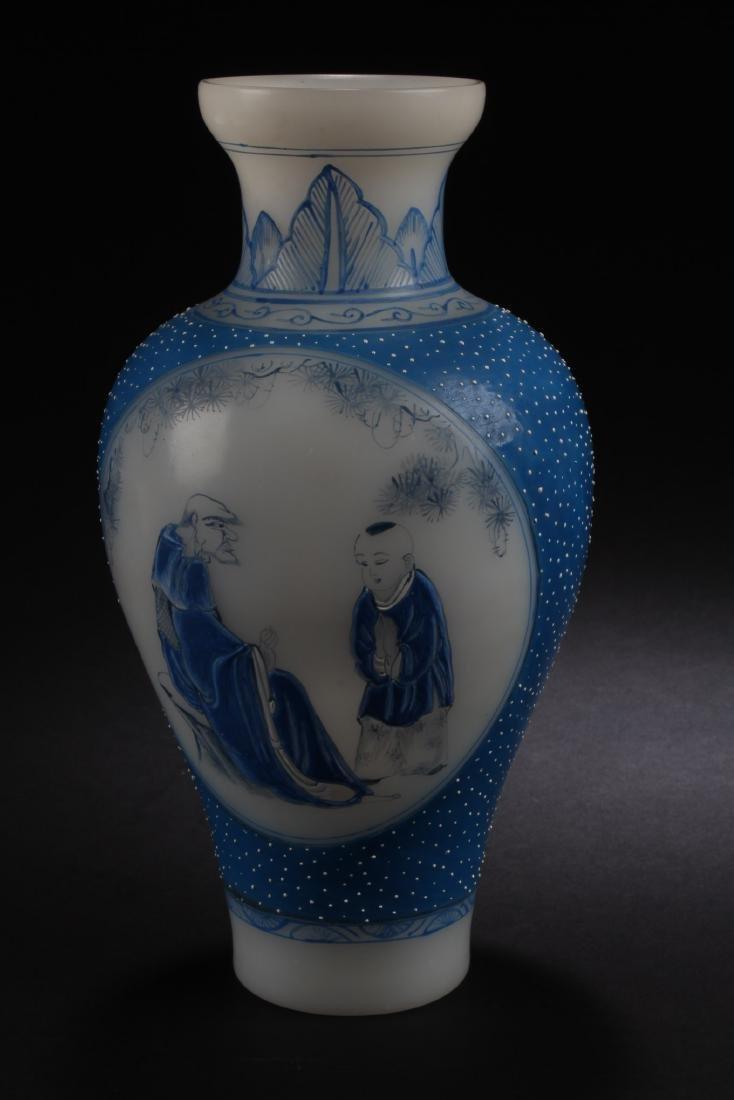 A Chinese Peking Glass Vase - 3