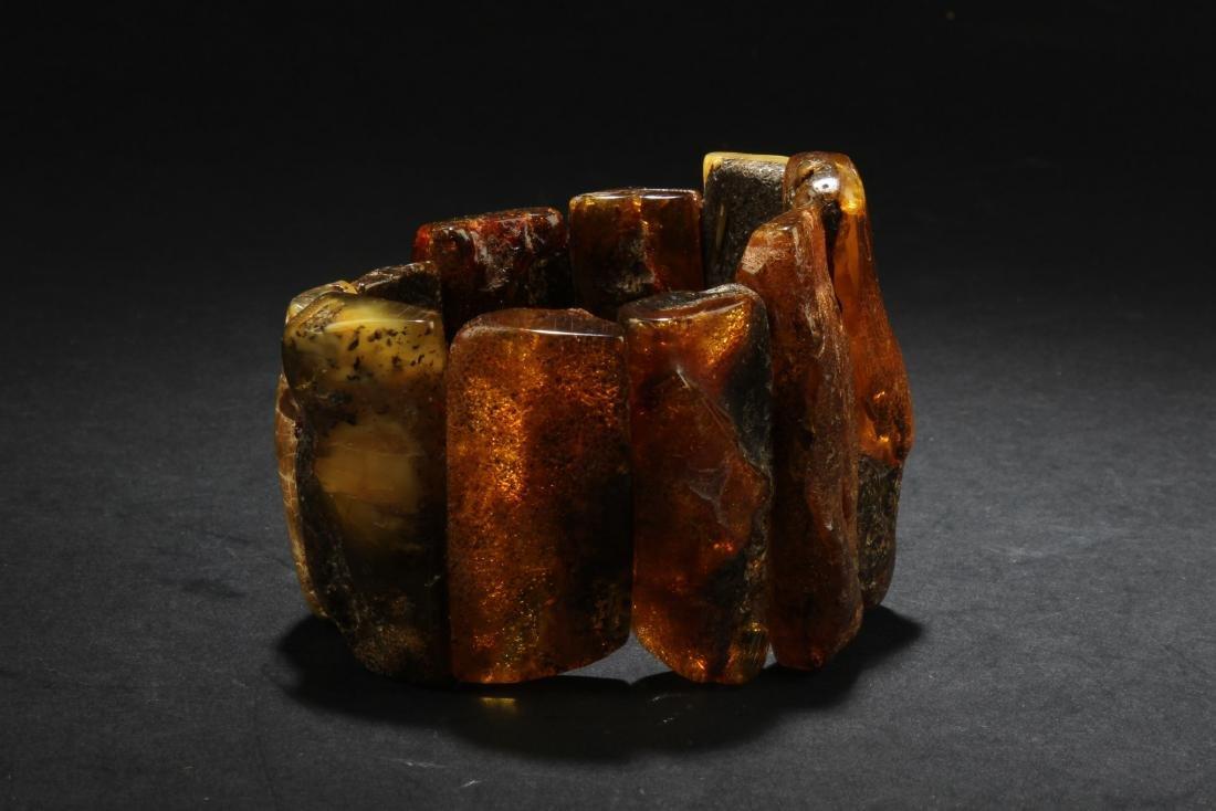 An Amber Wristlet