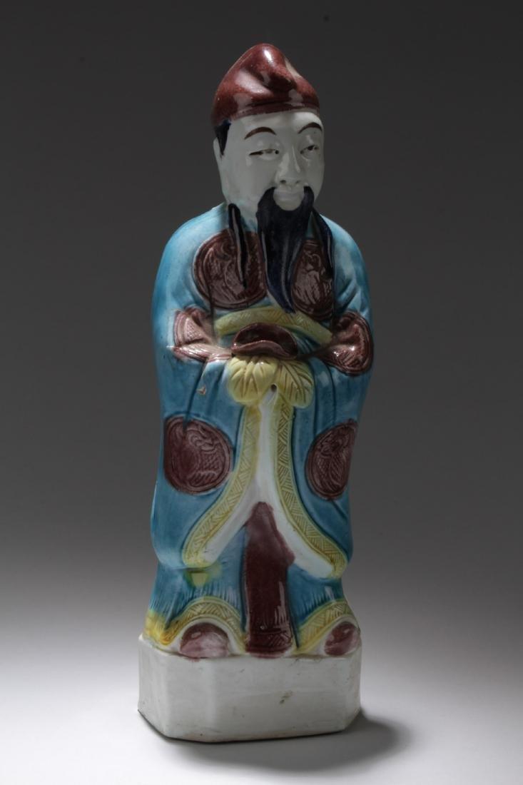Chinese Shiwan Figure