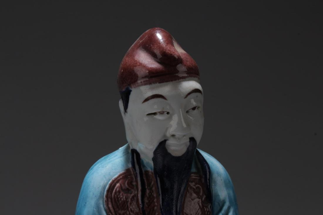 Chinese Shiwan Figure - 2