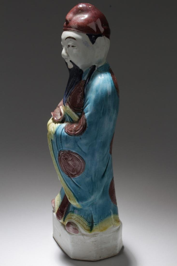 Chinese Shiwan Figure - 3