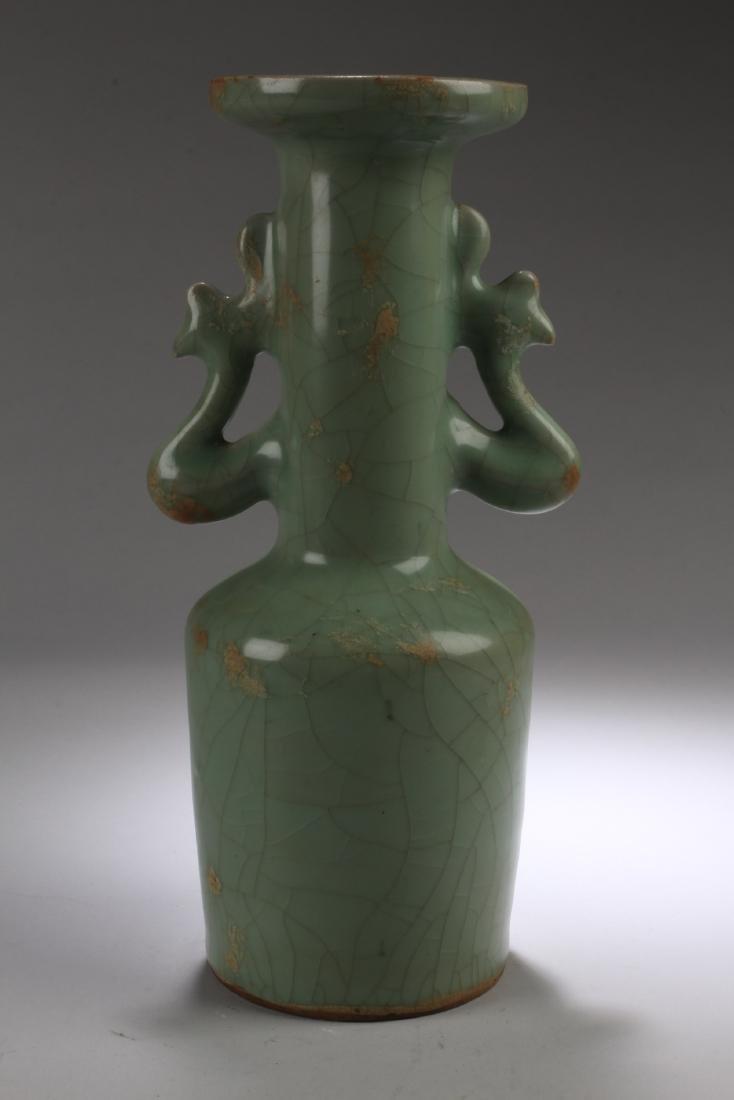 Chinese Enamel Vase