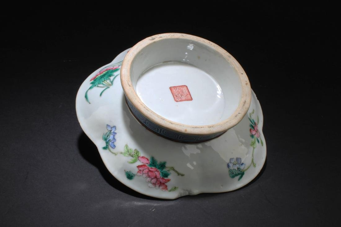 Antique Chinese Porcelain Plate - 6