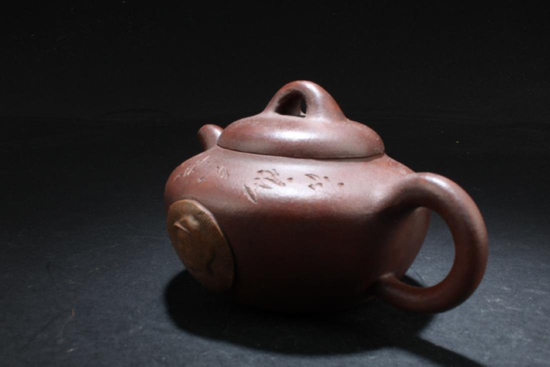Chinese Zisha Teapot - 3