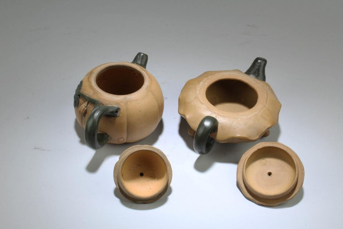 A Group of Two Chinese Zisha Teapot - 3