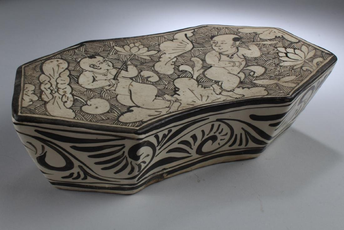 Chinese Pottery Pillow