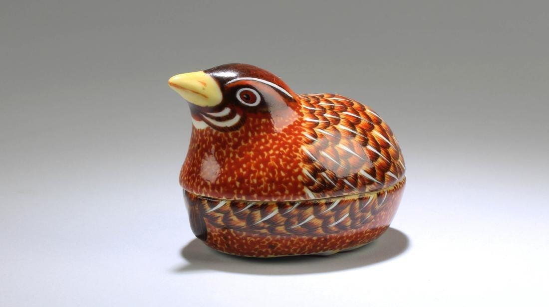 Chinese Fencai Porcelain Box - 2