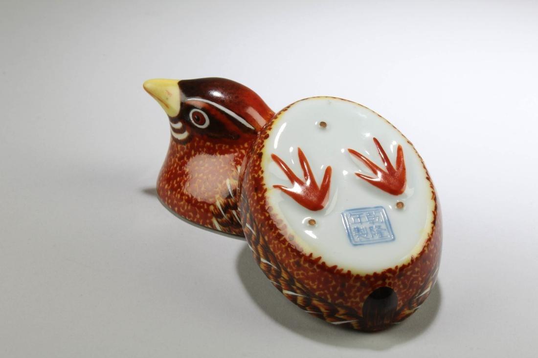 Chinese Fencai Porcelain Box - 5