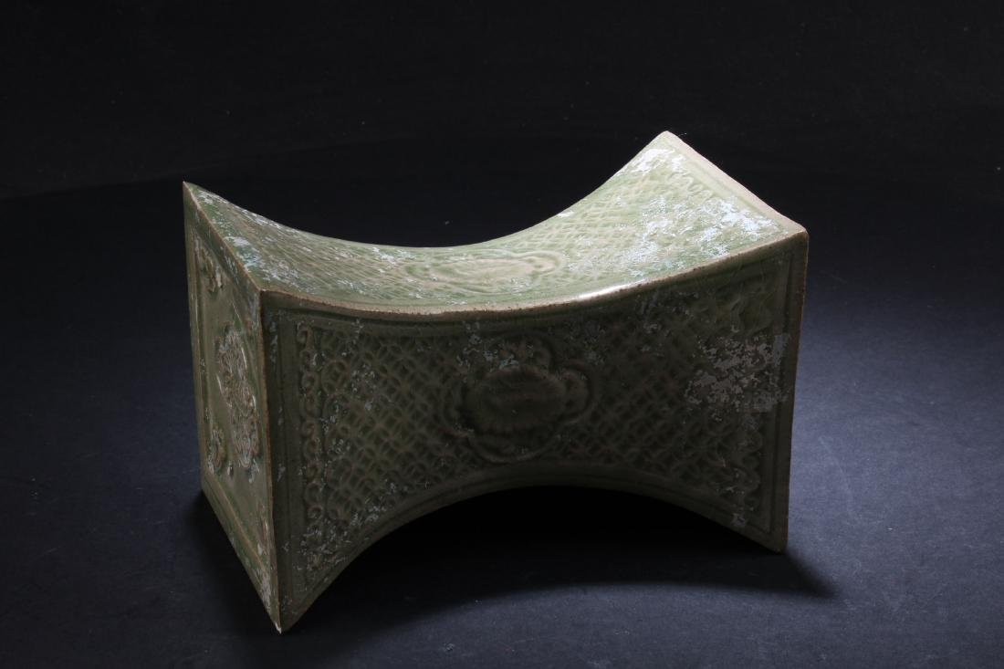 A Chinese Porcelain Pillow