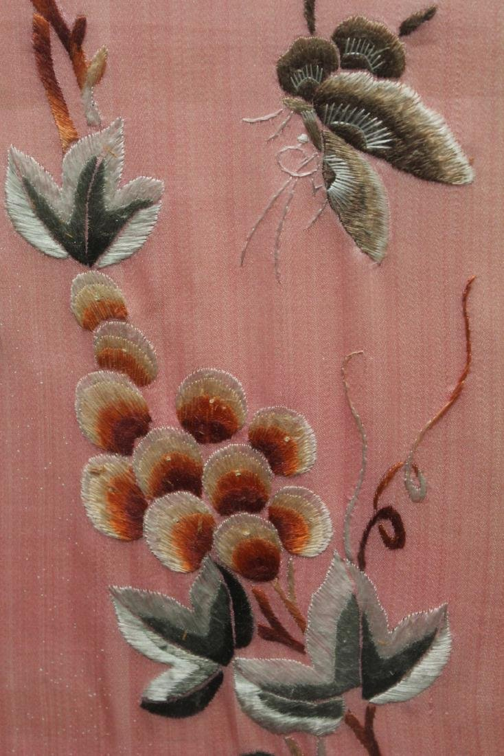 A Pair of Framed Embroidery Painting - 4