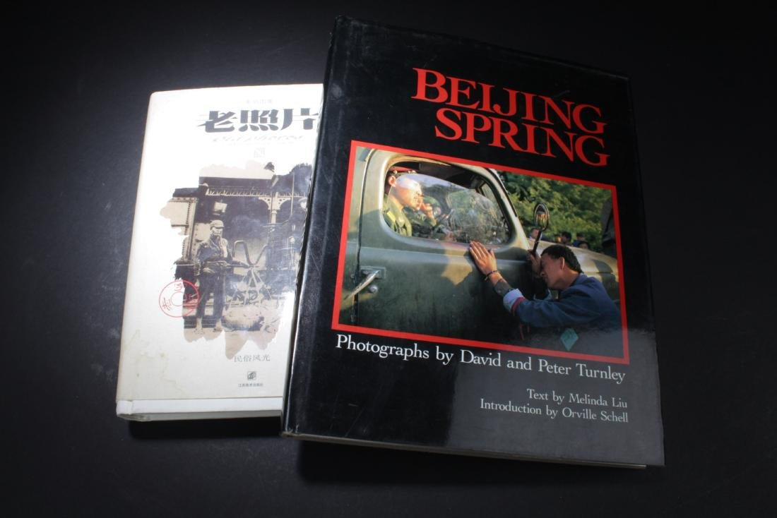 A Group of Two Photography Books
