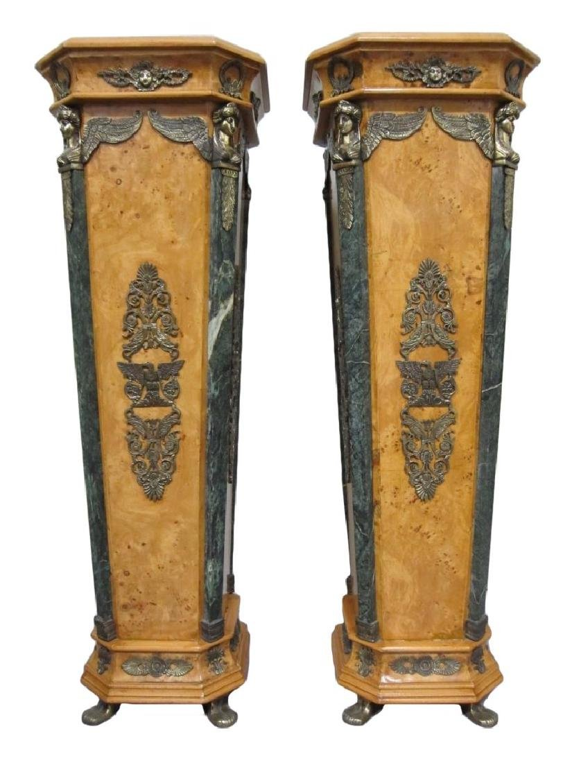 A Pair of Antique European Stands