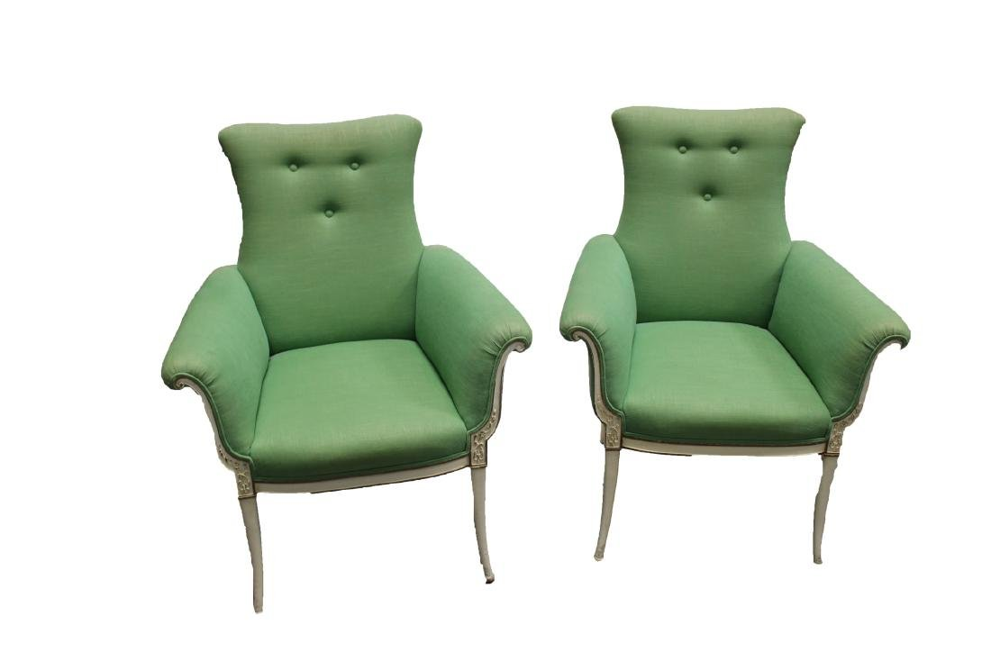 Two French Styled Sofa