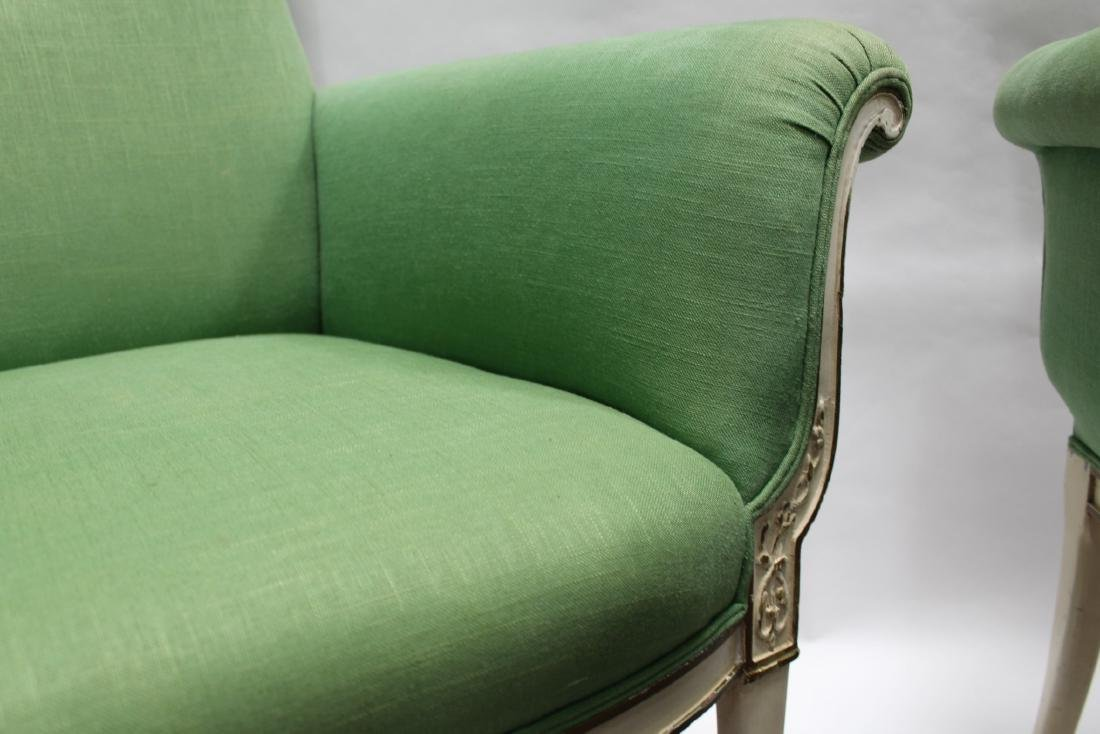 Two French Styled Sofa - 3
