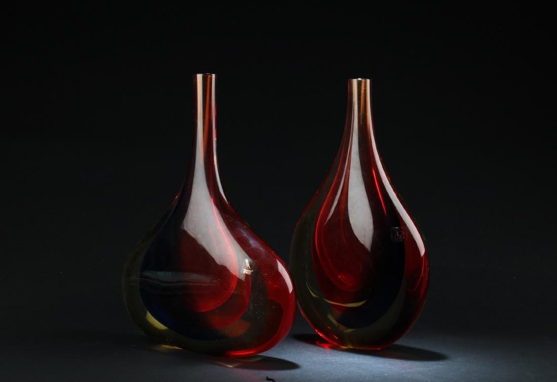 One Peking Glass Vase
