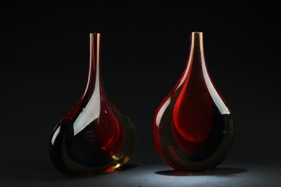 One Peking Glass Vase - 2
