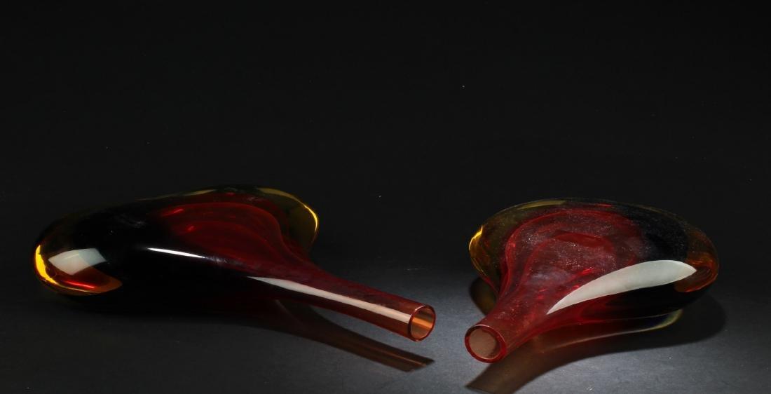 One Peking Glass Vase - 3