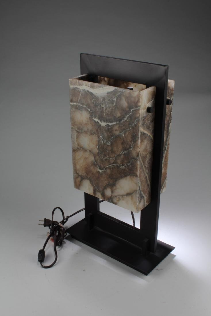 A Stone Table Lamp - 2