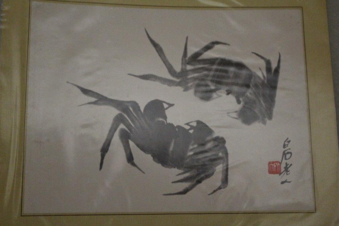 A Group of Three Chinese Painting - 2