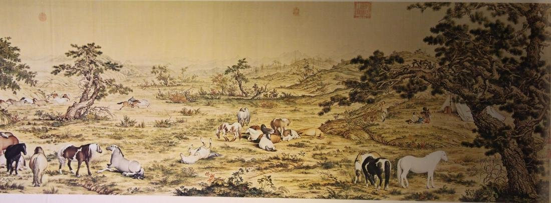 A Group of Four Chinese Painting - 3