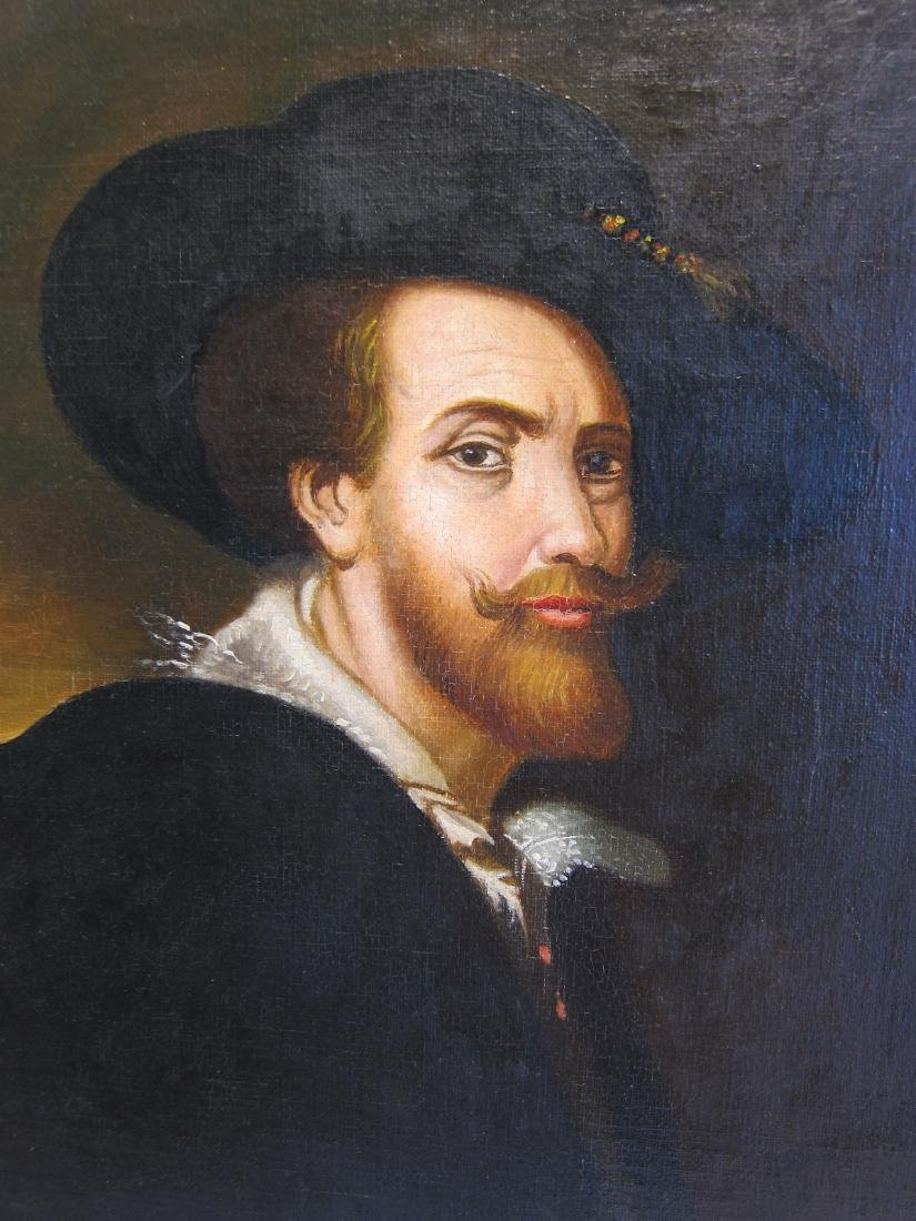 European Oil Portrait Painting - 2