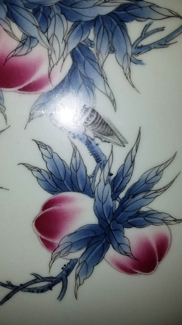 Chinese Framed Porcelain Painting - 3