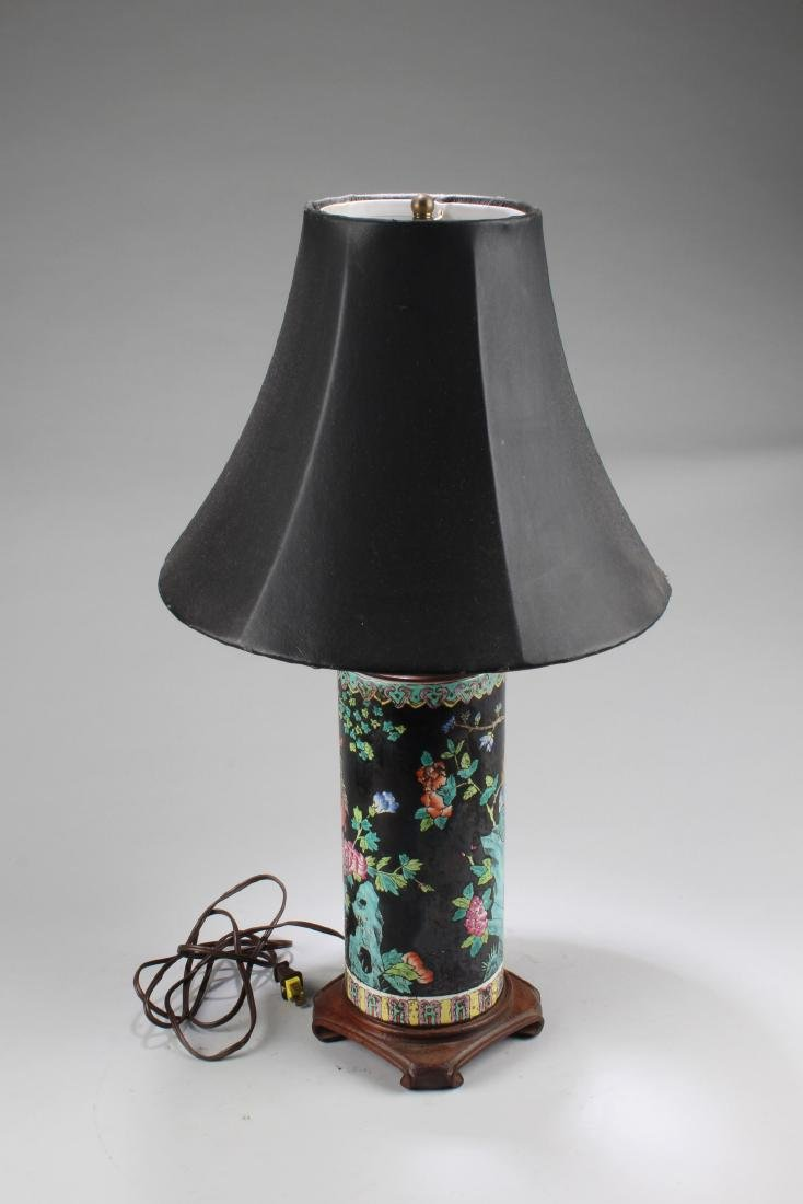 A Porcelain Table Lamp - 2