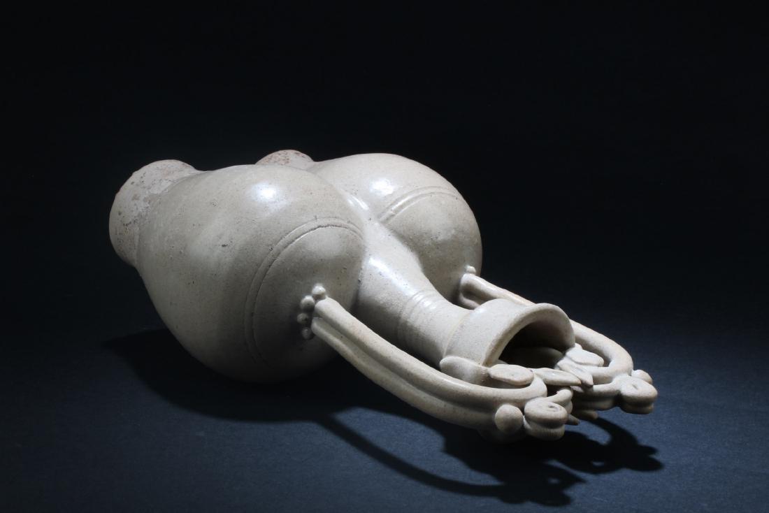 Chinese Pottery Vase - 3