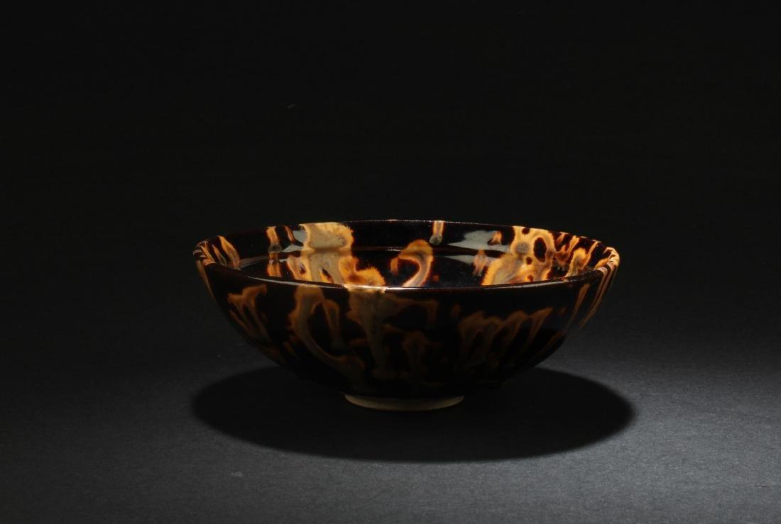 Chinese  Cizhou Porcelain Bowl - 3