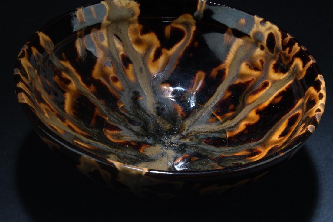 Chinese  Cizhou Porcelain Bowl - 4