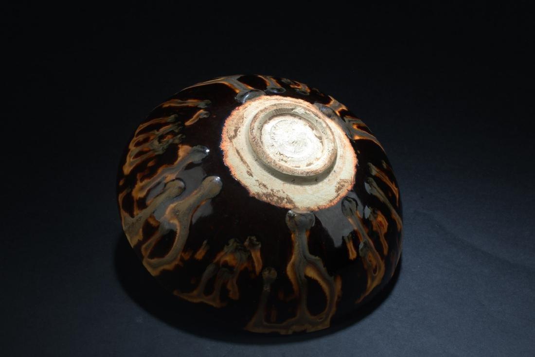 Chinese  Cizhou Porcelain Bowl - 5