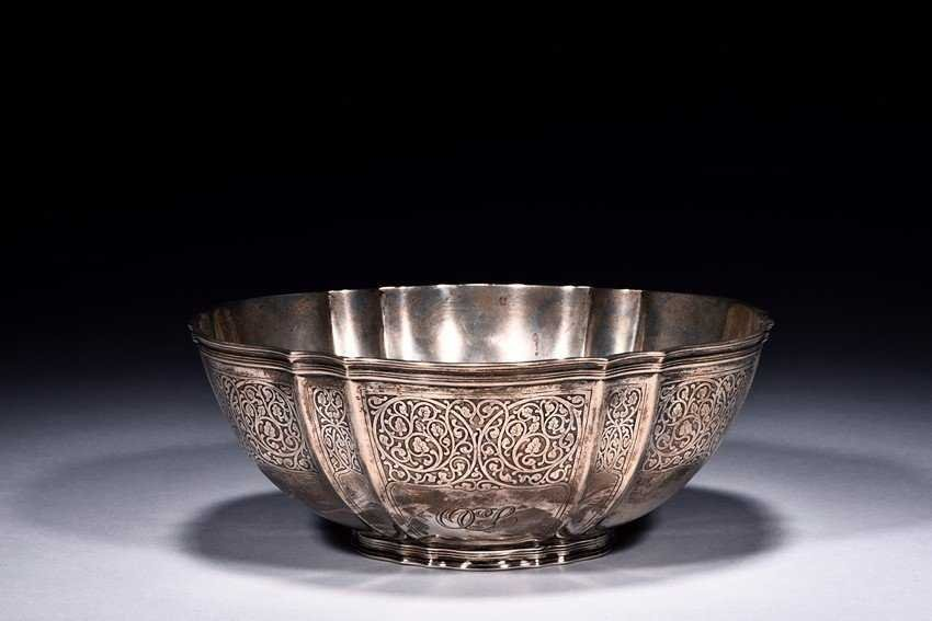 A Tiffany & Co. Sterling Silver Round Bowl - 3
