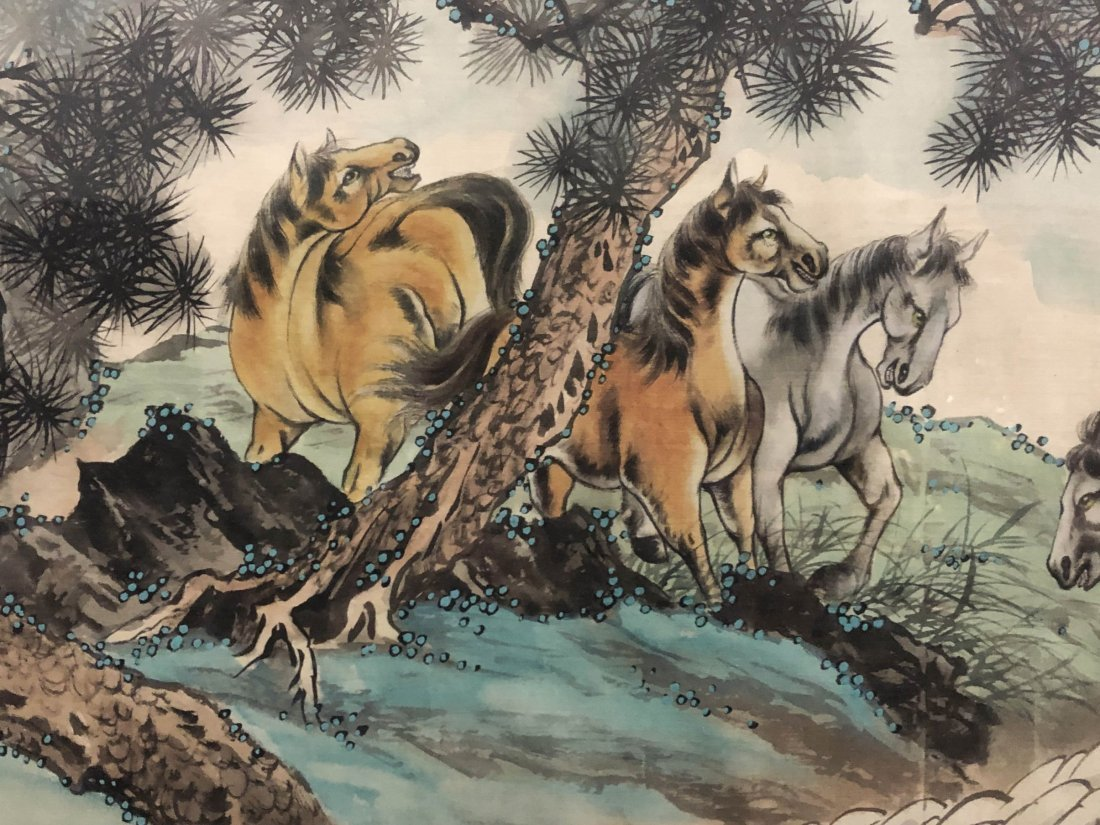 A Framed Chinese Painting - 2